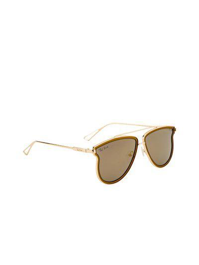 Ted Smith Unisex Polarised Oval Sunglasses TS-1311S_C6