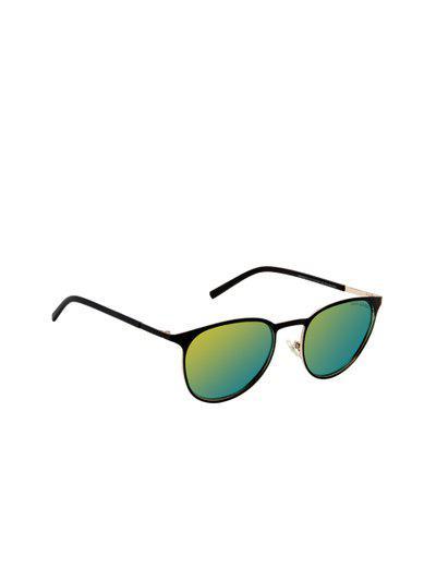 David Blake Unisex Oval Polarised and UV Protected Sunglasses SGDB1971