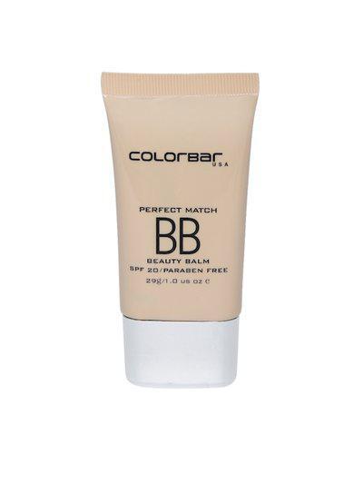 Colorbar Women Perfect Match White Light BB Beauty Balm 001