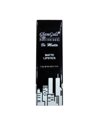 Glamgals Matte Finish Metallica Kiss Proof Lipstick 3.8 g