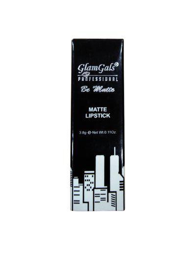 GlamGals Professional Be Matte Honey Brown Lipstick
