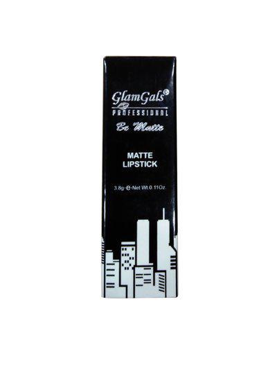 GlamGals Professional Be Matte Brick Red Lipstick