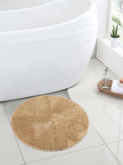 SPACES Tan Brown Luxury Cushlon Small Bath Mat