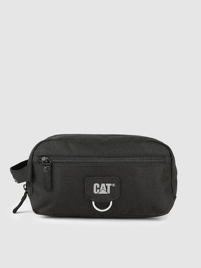 CAT Unisex Black Solid Jack Toiletry Bag