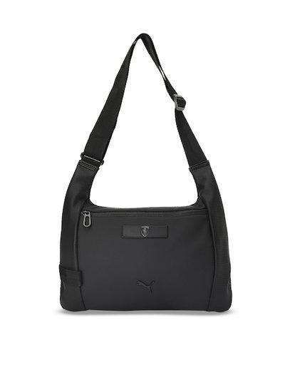 Puma Black Solid Sling Bag