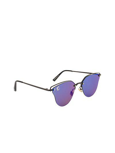 Clark N Palmer Women Oval Sunglasses CNP-S5933-C3