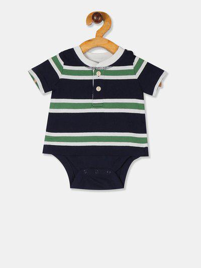 GAP Baby Blue Stripe Short Sleeve Body Double