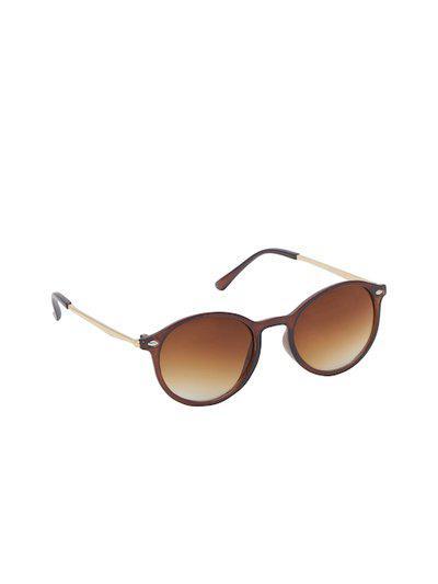 VAST Unisex Round UV Protected Sunglasses Downtown