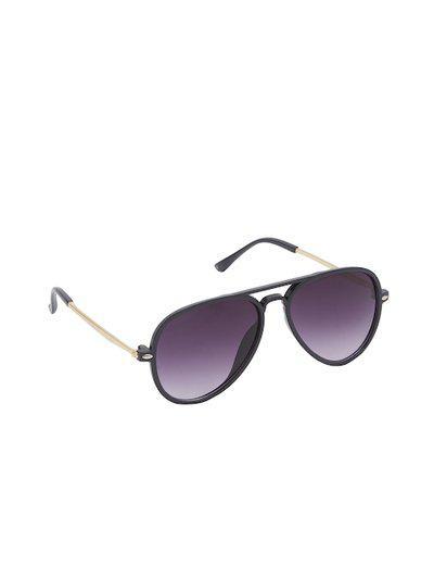 VAST Adults Purple & Black Aviator Sunglasses