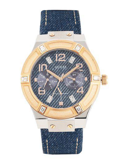 GUESS Men Blue Dial Watch W0289L1