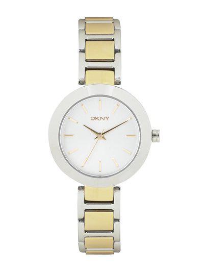 DKNY Women Silver-Toned Dial Watch NY2401