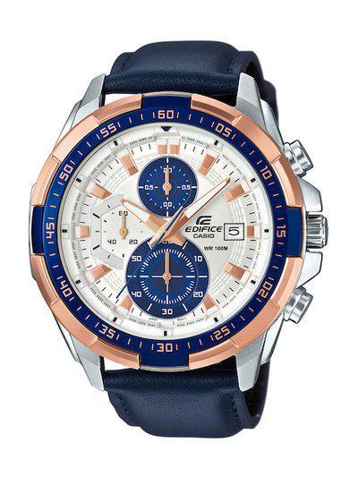 CASIO Edifice Men Off White Dial Chronograph Watch EFR-539L-7CVUDF - EX306