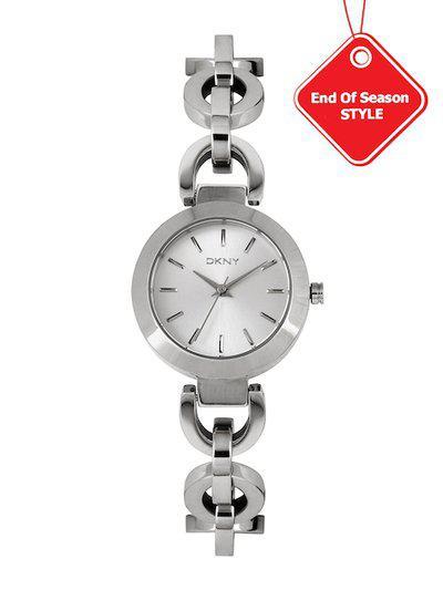 DKNY Women Silver-Toned Dial Watch NY2133I