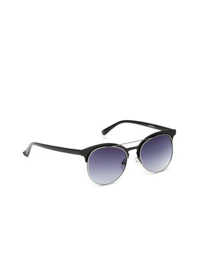 DressBerry Unisex Gradient Oval Sunglasses SUN02223