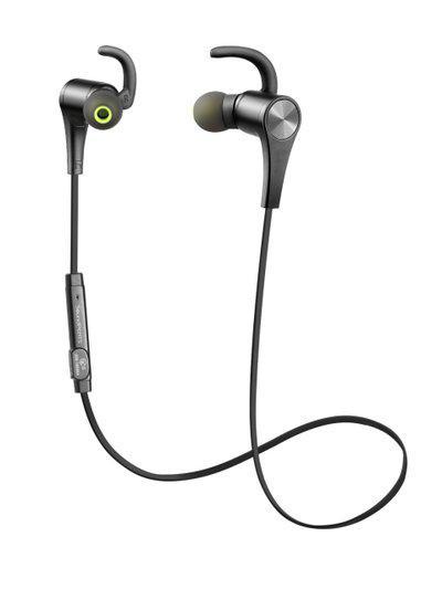 SoundPEATS Black Q12 Bluetooth 4.1 Wireless Magnetic In-Ear Earphones with Mic