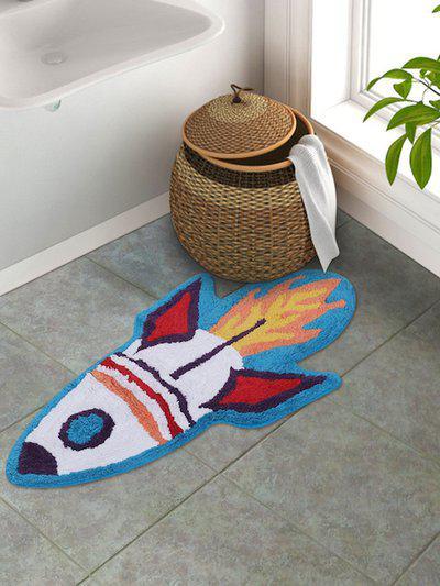 S9home by Seasons Kids Multicoloured Rocket Bath Rug