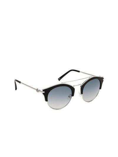 Tommy Hilfiger Women Mirrored Browline Sunglasses 9000