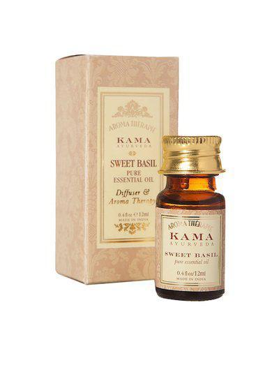 KAMA AYURVEDA Sweet Basil Pure Essential Oil 12 ml
