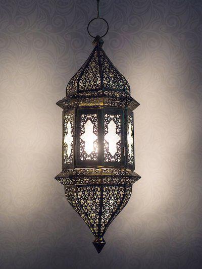 Fos Lighting Gold-Toned Pendant Hanging Lamp