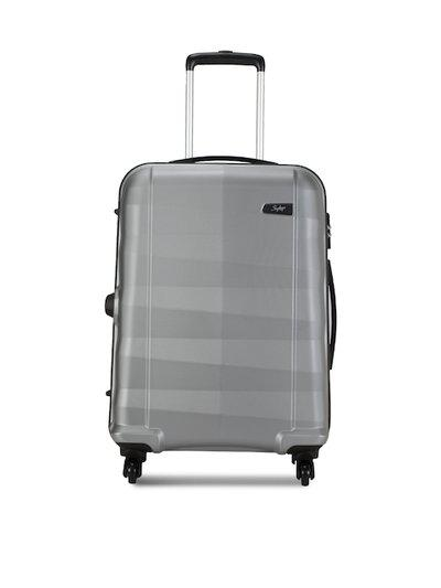 Skybags Medium Size Luggage Set - Silver , 4 Wheels