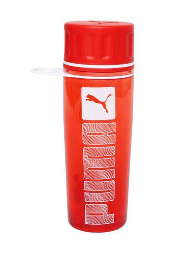 Puma Unisex Red Water Bottle