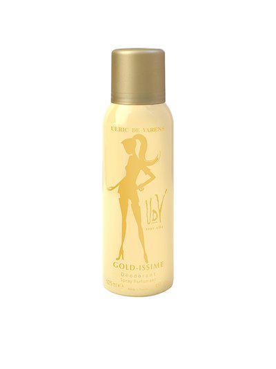 ULRIC DE VARENS Women Gold-Issime Deodorant 125 ml