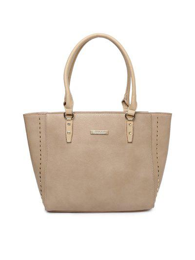 Roadster Beige Solid Shoulder Bag