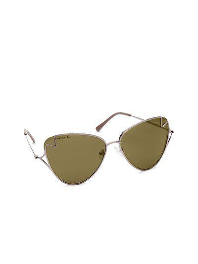 Fastrack Women Oval Sunglasses M179BR1F