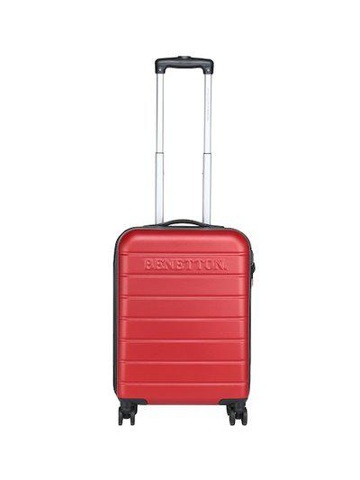 United Colors of Benetton ABS 68 cms Red Suitcases (0IP6HAB24E01I)