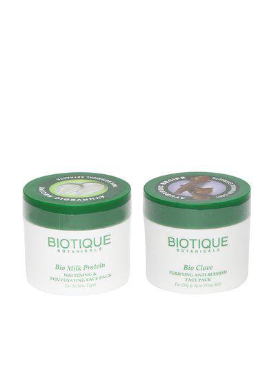 Biotique Clove Anti Blemish Face Pack Duo