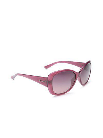 Polaroid Women Polarised Butterfly Sunglasses P8317 C6T 58MR