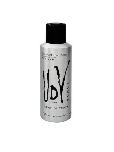 ULRIC DE VARENS Men Black Deodorant Body Spray 200 ml