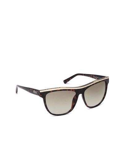Kenneth Cole Women Mirrored Rectangle Sunglasses KC2757 60 52P