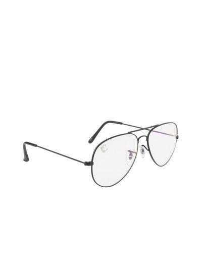 Clark N Palmer Unisex Transparent Aviator Sunglasses CNP-SB-763