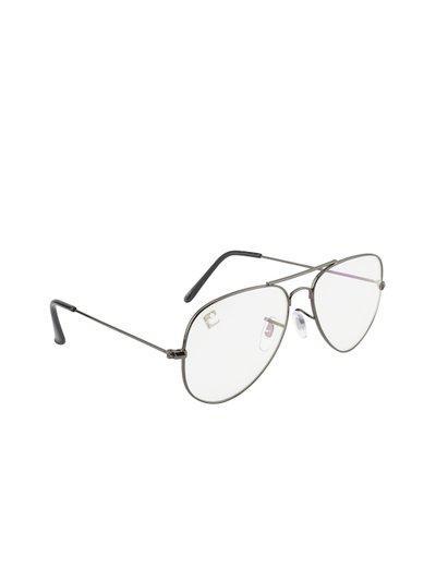 Clark N Palmer Unisex Transparent Aviator Sunglasses CNP-SB-762