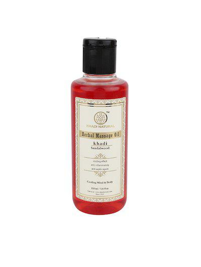 Khadi Natural Unisex Sandalwood Herbal Massage Oil