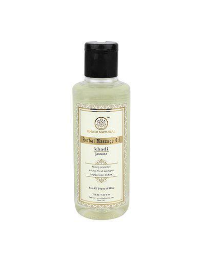 Khadi Natural Unisex Jasmine Massage Oil 210 ml