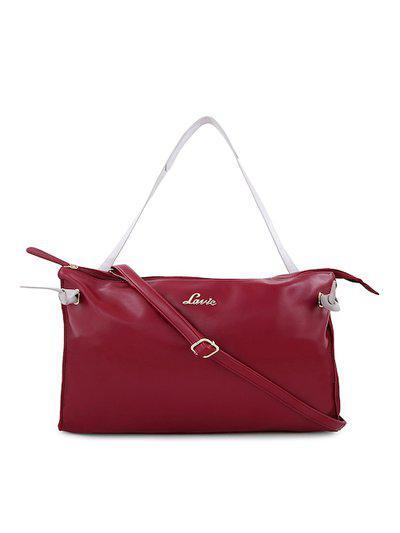 Lavie Red Solid Sling Bag