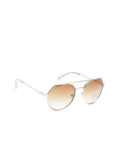 Fastrack Women Oval Sunglasses NBM192BR2F