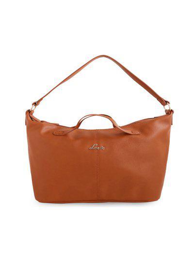 Lavie Tan Solid Hobo Bag
