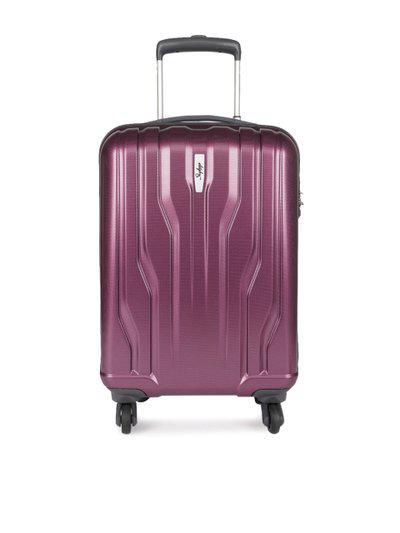 Skybags Marshall 57 cms Polycarbonate Raisin Hardsided Cabin Luggage (MARSK55RSN)