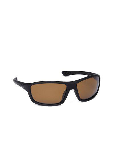 Reebok Unisex Rectangle Sunglasses RSK 1 BLK POL