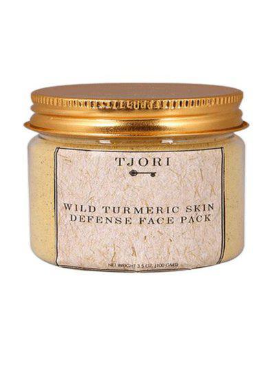TJORI Wild Turmeric Skin Defense Face Pack