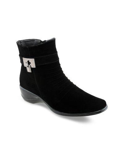 Shuz Touch Black Boots (size-36)
