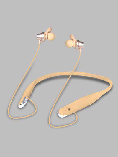 Roadster Gold-Toned Wireless Neckband Headset MFB-PN-CY-B01