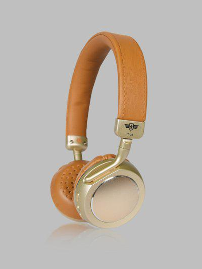 Roadster Gold-Toned And Yellow Wireless Headphones MFB-PN-CY-T05