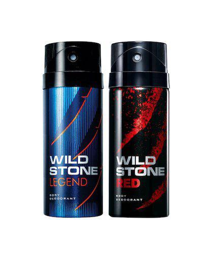 Wild Stone Men Pack of 2 Deodorants