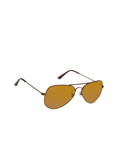 David Blake Unisex Aviator Sunglasses SGDB1511x3025SIL