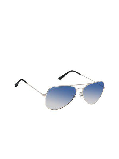 David Blake Unisex Aviator Sunglasses SGDB1510x3025SIL