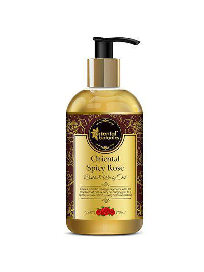 Oriental Botanics White Oriental Spicy Rose Bath & Body Oil 200ml